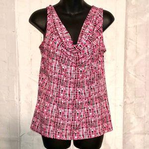 Van Heusen cowl neckline blouse